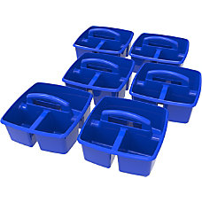 Storex Plastic Storage Caddies 5 14