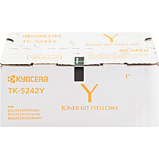 Kyocera TK 5242Y Original Toner Cartridge