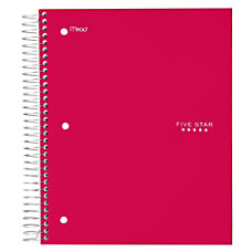 Five Star Trend Notebook 8 Pockets