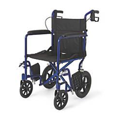 Medline Aluminum Transport Chair 12 Wheels