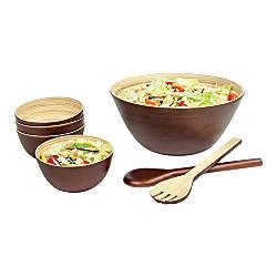 Orbit 7 Piece Bamboo Bowl Set
