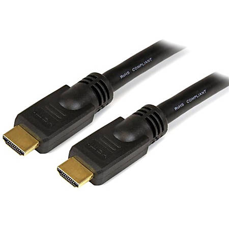StarTech.com 45 ft High Speed HDMI Cable M/M - 4K @ 30Hz - No Signal Booster Required - 45 ft HDMI A/V Cable for Audio/Video Device, TV, Gaming Console, Digital Video Recorder, Projector