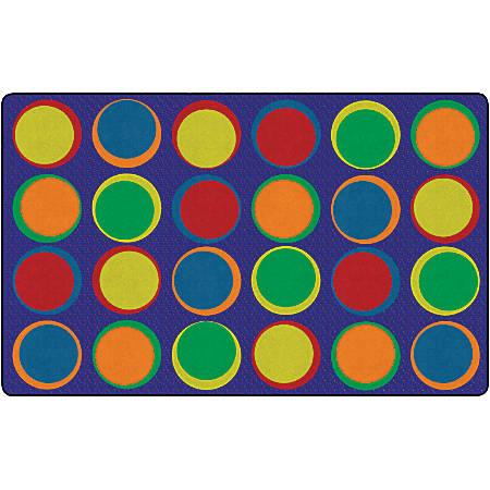 "Flagship Carpets Sitting Spots Rug, 7' 6"" x 12', Rectangular, Primary"