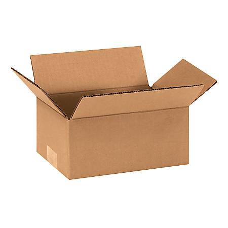 "Office Depot® Brand Corrugated Cartons, 9"" x 6"" x 4"", Kraft, Pack Of 25"