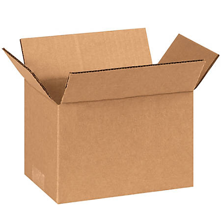 "Office Depot® Brand Corrugated Cartons, 8"" x 5"" x 5"", Kraft, Pack Of 25"