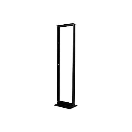 "Schneider Electric NetShelter Rack Frame - 45U Rack Height x 19"" Rack Width - Black - 751.58 lb Static/Stationary Weight Capacity"