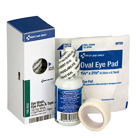 First Aid Only® SmartCompliance® Refill Eye Wash Kit