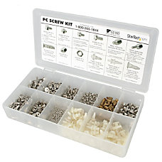 StarTechcom Deluxe Assortment PC Screw Kit