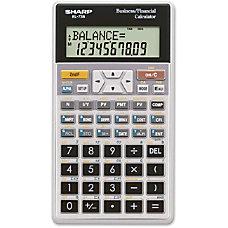 Sharp EL 738C Financial Calculator