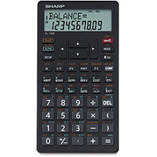 Sharp EL 738C Financial Calculator
