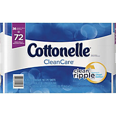 Cottonelle CleanCare CleanRipple 1 Ply Bathroom