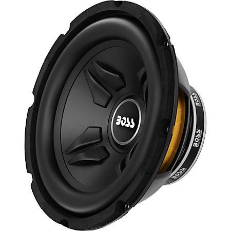 BOSS AUDIO CXX10 Chaos Exxtreme10 inch Single Voice Coil (4 Ohm) 800-watt Subwoofer