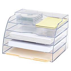 Eldon Optimizers 2 Way Organizer Clear