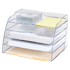 Eldon Optimizers 2 Way Organizer Clear