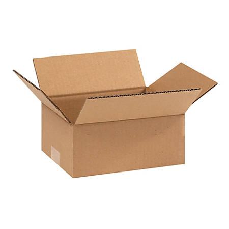 "Office Depot® Brand Corrugated Cartons, 9"" x 7"" x 4"", Kraft, Pack Of 25"