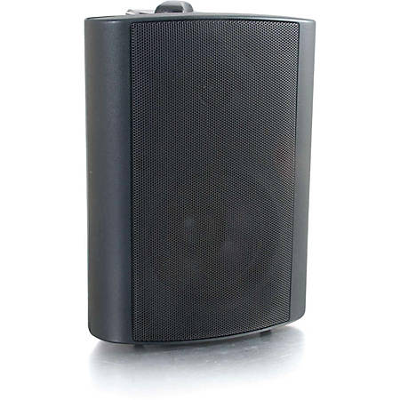 C2G Cables To Go 4in Wall Mount Speaker - Black (Each) - 100 Hz to 20 kHz - 8 Ohm - Wall Mountable