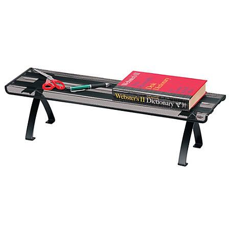 Brenton Studio™ Metro Mesh Off-Desk Shelf, Black