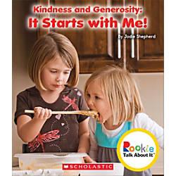 Scholastic Rookie Talk About It Kindness
