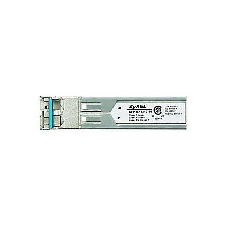 ZyXEL SFP (mini-GBIC) Module - For Optical Network, Data Networking 1 LC 1000Base-BX Network - Optical Fiber Single-mode - Gigabit Ethernet - 1000Base-BX