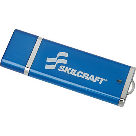 USB Flash Drive With 256-Bit AES Encryption, 32GB (AbilityOne 7045-01-569-1704)