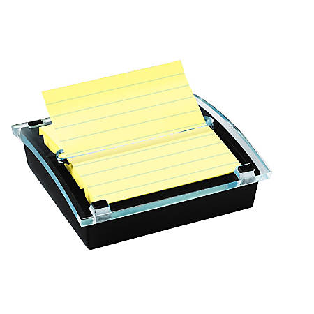 """Post-it® Notes Pop-Up Notes & Dispenser, 4"""" x 4"""", Clear"""