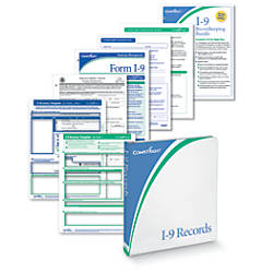 ComplyRight I 9 Recordkeeping System White