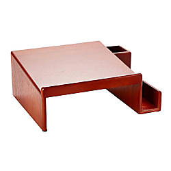Rolodex Wood Tones Phone Stand Mahogany