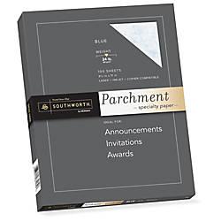 Southworth Inkjet Laser Print Parchment Paper