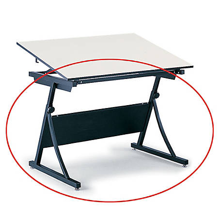 Safco® Planmaster Drafting Table Base, Black