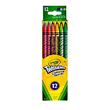 Crayola Twistables Color Pencils Assorted Colors