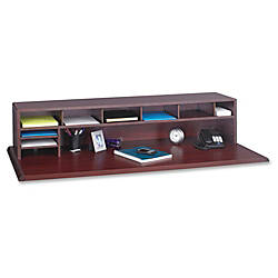 Safco 80percent Recycled Low Profile Desktop