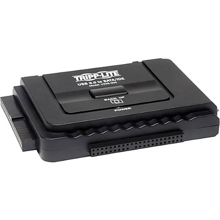Tripp Lite USB 3.0 SuperSpeed to Serial ATA SATA and IDE Adapter for 2.5in and 3.5 inch Hard Drives - for 2.5in or 3.5in Hard Drives