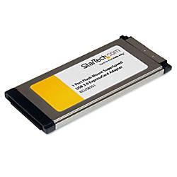 StarTechcom 1 Port Flush Mount ExpressCard