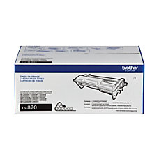 Brother TN820 Black Toner Cartridge