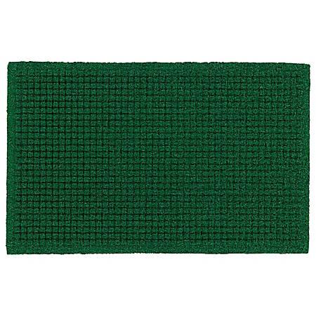 "The Andersen Company Brush Hog Plus Floor Mat, 24"" x 36"", 20% Recycled, Green Brush"