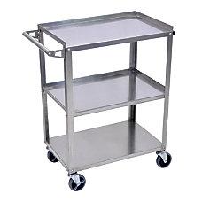 Luxor 3 Shelf Stainless Steel Serving