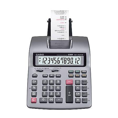 Casio® HR-150TM Plus Printing Calculator
