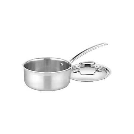 Cuisinart 1-1/2 Qt. Saucepan - 1.5 quart Saucepan - Stainless Steel, Aluminum - Dishwasher Safe