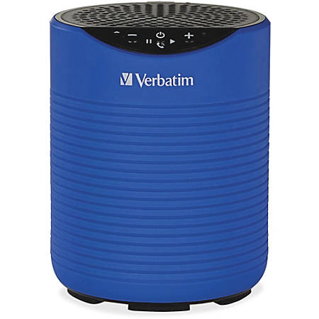 Verbatim® Portable Bluetooth® Speaker System, Blue
