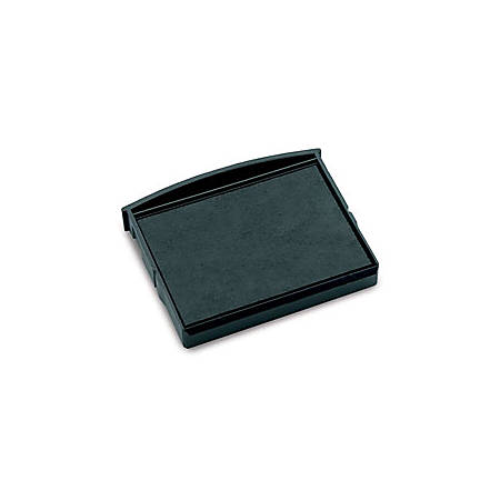 """Cosco® Self-Inking Replacement Pad For Date And Phrase Stamp, 2 3/8"""" x 1 5/8"""", Black Ink"""