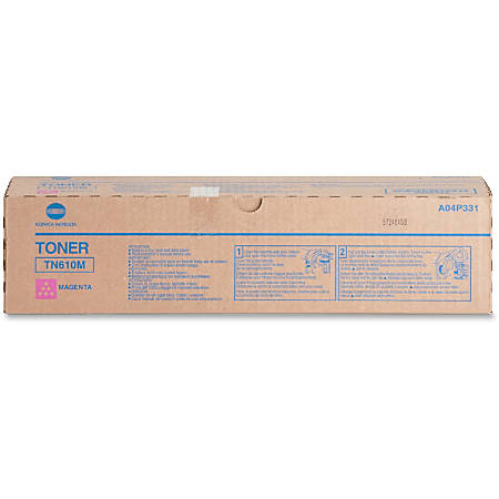 Konica Minolta Original Toner Cartridge - Laser - High Yield - 26500 Pages - Magenta - 1 Each