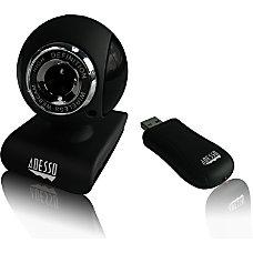 Adesso CyberTrack V10 Webcam 03 Megapixel