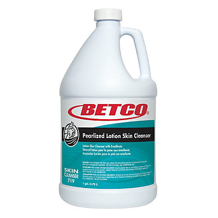 Betco® Pearlized White Lotion Skin Cleanser, Fresh Scent, 128 Oz, Case of 4 Bottles