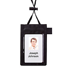 Office Depot Brand Neck Pouch Name