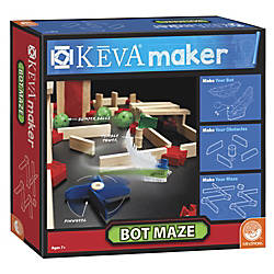 KEVA Maker Bot Maze Set Natural