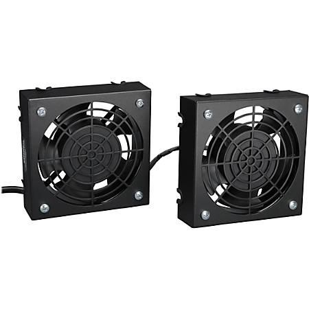 Tripp Lite Wallmount Rack Enclosure Cooling Roof Fan Kit 120V 5-15P