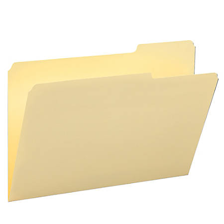 Smead® Selected Tab Position Manila File Folders, Legal Size, 1/3 Cut, Position 3, Pack Of 100