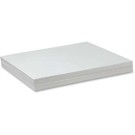 "Pacon® Sulphite Drawing Paper, 18"" x 24"", 50 Lb, White, 500 Sheets"