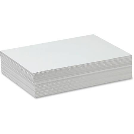 "Pacon® Sulphite Drawing Paper, 9"" x 12"", 50 Lb, White, 500 Sheets"