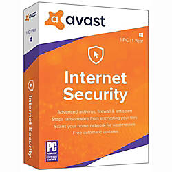 Avast Internet Security 2018 1 PC